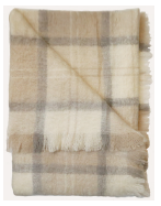 Plaid Mohair