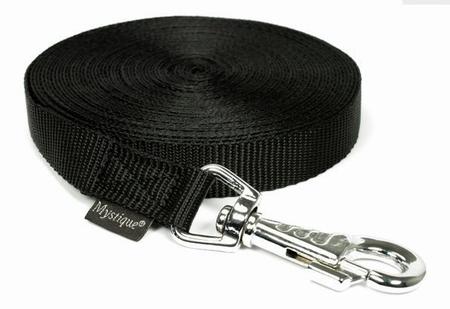 Nylon lange lijn Zwart 10M