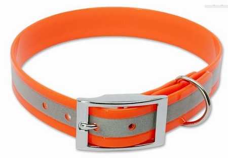 Biothane ® reflecterende halsband 25mm