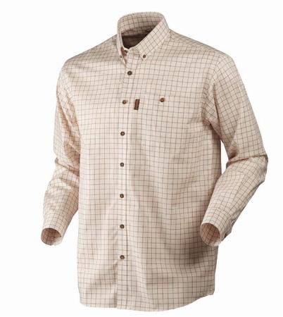 Härkila Stenstorp Shirt Burnt Orange Check