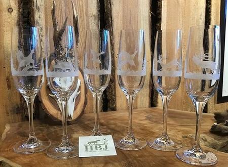 Champagne Glazen 6 stuks