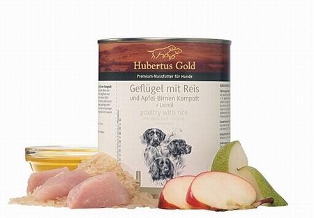 Hubertus Gold Menu Kip, Rijst, Appel En Peer