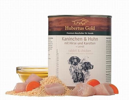 Hubertus Gold Menu Konijn, Haan, Gierst En Wortelen
