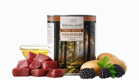 Hubertus Gold Menu Forest-Edition Schwarzwild (wildzwijn)