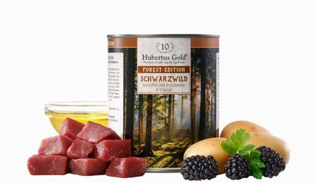 Hubertus Gold Menu Forest-Edition Schwarzwild (wildzwijn)