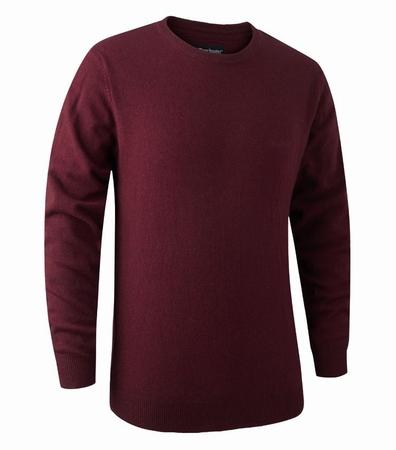 Brighton knit O-neck Sweater Rood