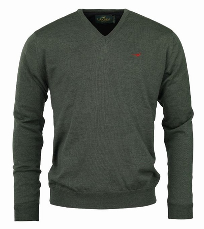 Laksen Grantham Windstopper V-Neck Forest