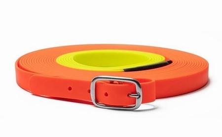 Mystique Biothane 13mm x 10m Neon Oranje-Geel