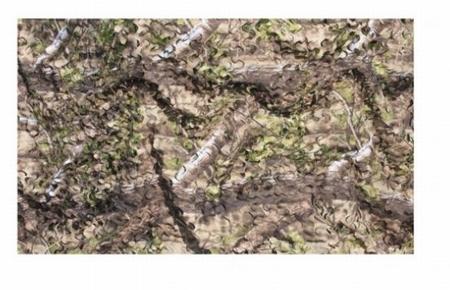 Camouflagenet 2-laag Naturel Groen 1,5 x 4 meter