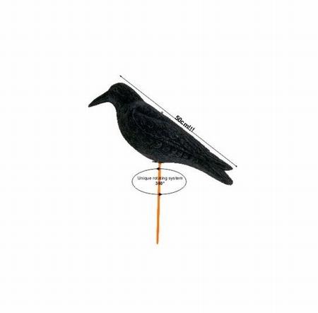 Lokvogel Kraai Magnum Waggle Geflockt 50 cm
