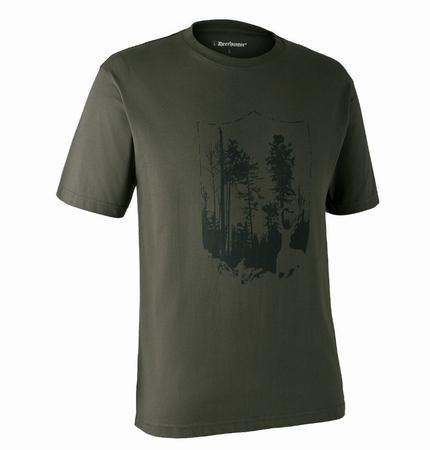 Deerhunter T-shirt w. Shield
