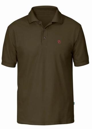 Fjällräven Crowley Pique Shirt Dark Olive