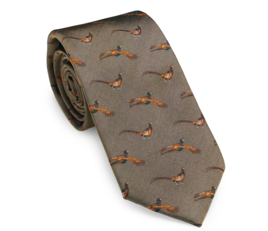 Laksen Pheasant Tie Camel