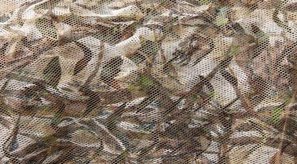 Camouflagenet Stealth Winter/ wintergras 1,5 x 4 meter