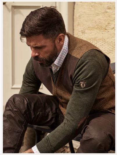 Chevalier Gart Merino Men's Sweater Green