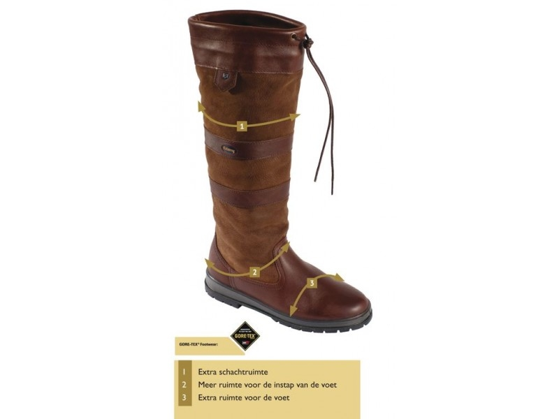 Dubarry Galway Extra-Fit Walnut