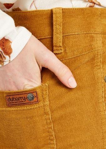 Dubarry Honeysuckle Broek Mustard