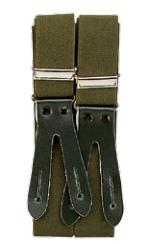 Elastische Bretels Lederen lussen