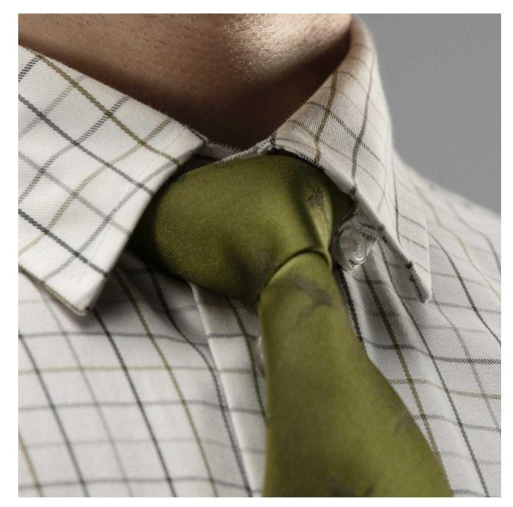Härkila Retrieve Shirt Dark Olive Check