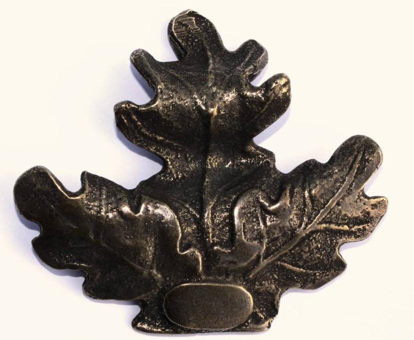 Keiler trofee afdekblad Brons