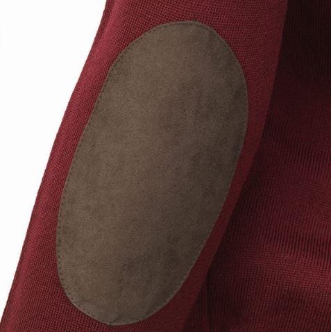 Laksen Essex V-Neck Sweater Bordeaux