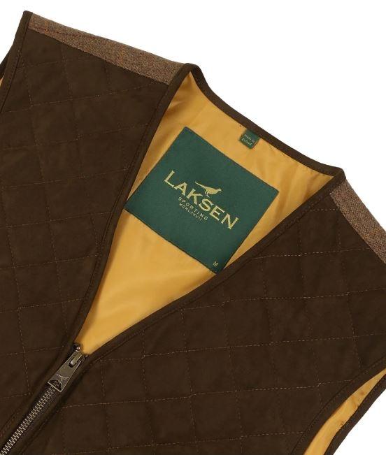 Laksen Firle Glenogil Shooting Vest