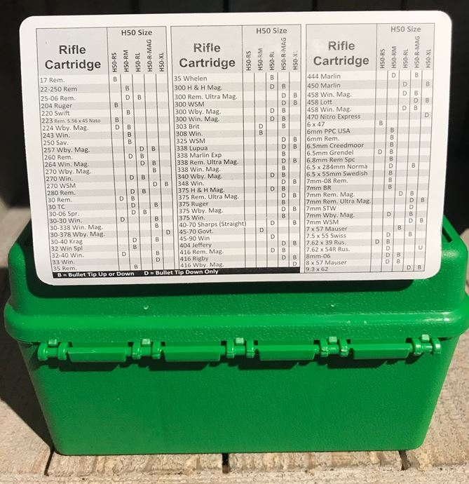 MTM Deluxe Ammo Box H50-RS-10