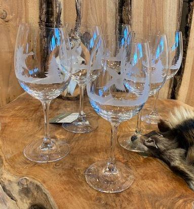 Rode wijn Glazen 6 stuks