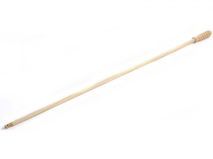 Wapen Poetsstok met handvat 90cm