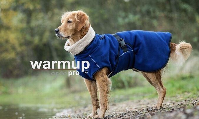 Warm-Up Cape Pro Dark Blue