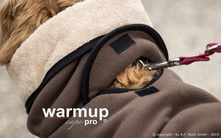 Warm-Up Cape PRO Taupe/Mocca