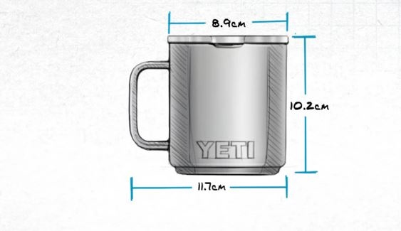 Yeti Rambler Mug 296ML Black