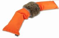 3 Delige dummy Junior Oranje met konijnenvel 1,5 KG
