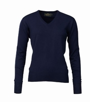 Laksen Essex V-Neck Navy