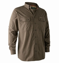 Deerhunter Callum Bamboo Shirt Green Check