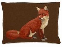 Red Fox Zittend