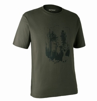Deerhunter T-shirt w. Shield