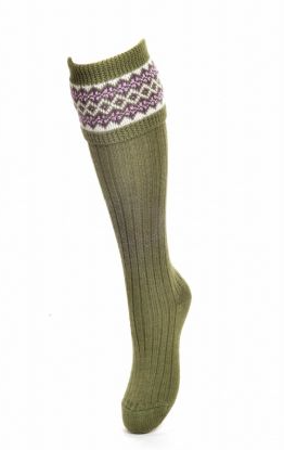 House of Cheviot Schietsokken Lady Fairisle