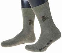 Nordpol Wollen sokken motief